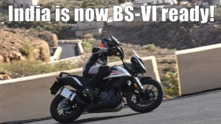 India BS6 ready KTM 390 Adventure