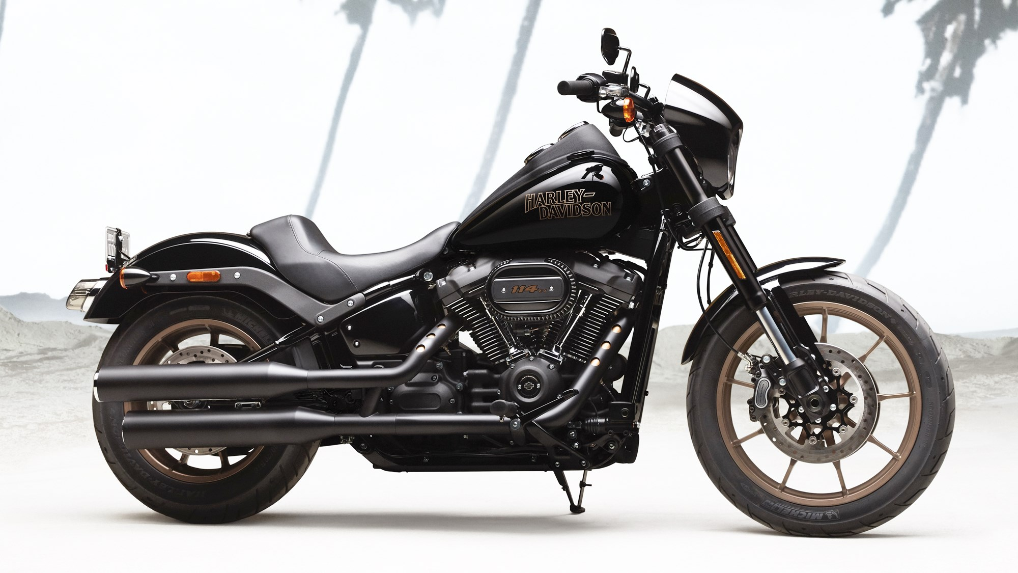 Harley-Davidson Low Rider S colour options