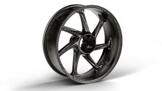 M Performance Parts for the BMW S 1000 RR M carbon rear wheel