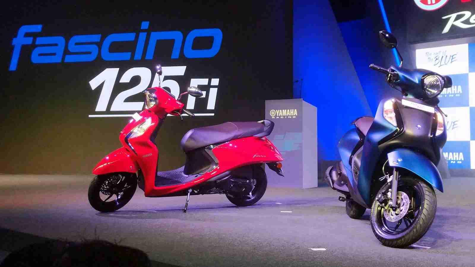 Yamaha Fascino 125 Fi launched