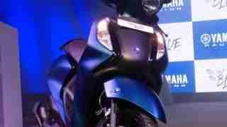 Yamaha Fascino 125 Fi dual tone blue black with disc