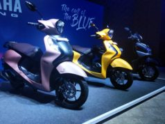 Yamaha Fascino 125 Fi colour options