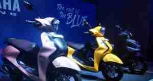 Yamaha Fascino 125 Fi colour options