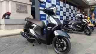 Yamaha Fascino 125 Fi black colour option