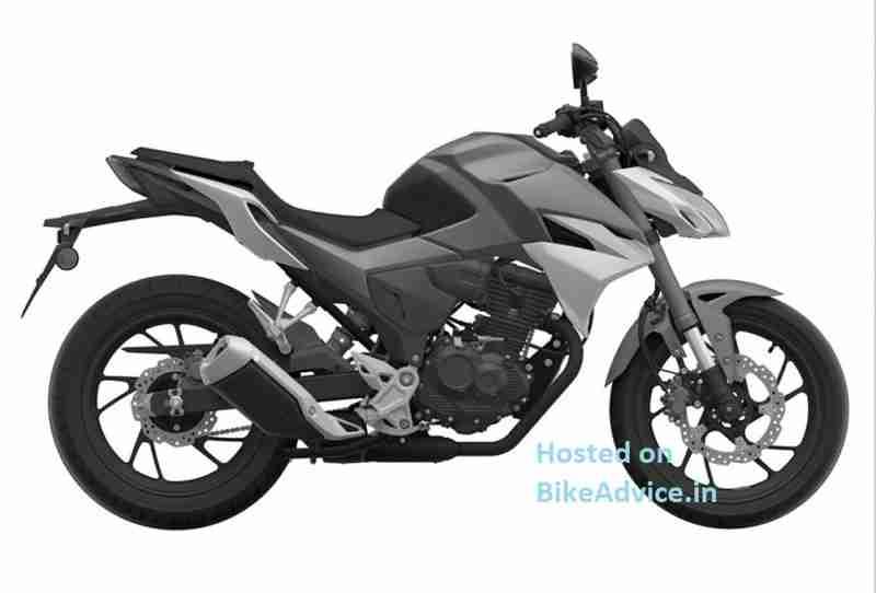 Honda CBF190R India Patent