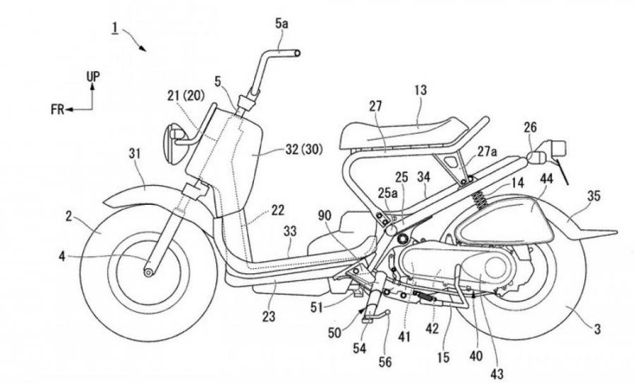 Honda Sidestand Patents