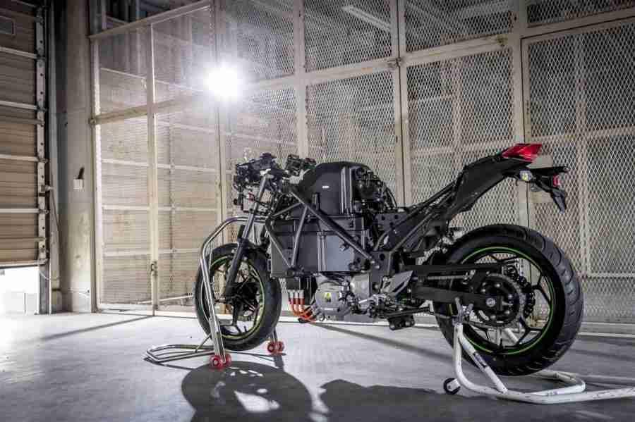 Kawasaki Endeavor Electric Motorcycle