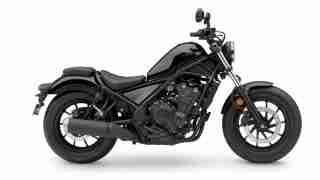 2020 Honda Rebel 500 colour option - Graphite Black