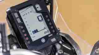 2021 Yamaha Tenere 700 instrument meter console