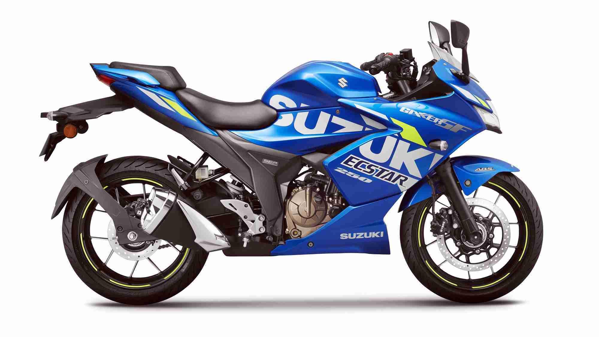 BS6 Suzuki Gixxer SF 250 MotoGP edition