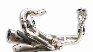 DUCATI ACCESSORIES Complete titanium exhaust system