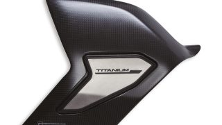 DUCATI ACCESSORIES Cover swing arm carbon fibre