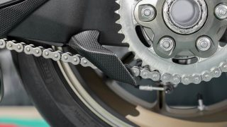 DUCATI PANIGALE V4 ACCESSORIES carbon fibre chain guard