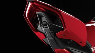 DUCATI PANIGALE V4 ACCESSORIES cover for number plate holder