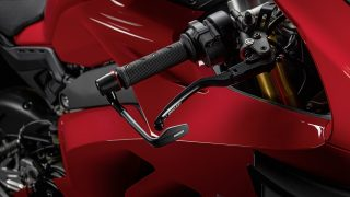 DUCATI PANIGALE V4 ACCESSORIES lever protection