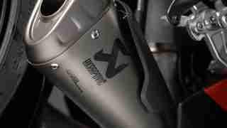 DUCATI PANIGALE V4 ACCESSORIES titanium exhaust system