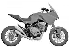 Honda CB4X Production Version Patents