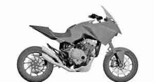 Honda CB4X Production Version Patents
