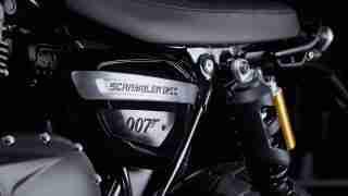 Limited edition Triumph Scrambler 1200 Bond Edition