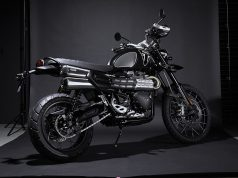 Limited edition Triumph Scrambler 1200 Bond Edition