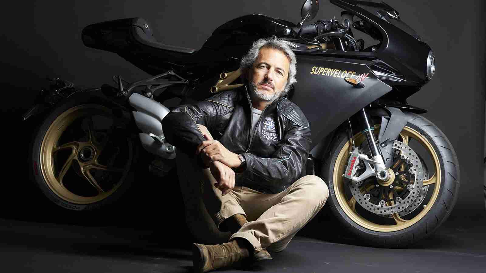 MV Agusta Group Marketing Director Filippo Bassoli