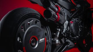 MV Agusta Rush 1000 rear wheel