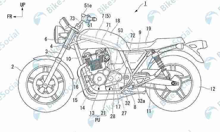 Honda Semi-Automatic Gearbox CB1100