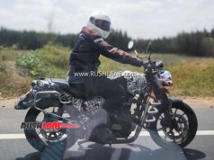 Royal Enfield Hunter Spy Images