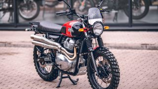Royal Enfield Interceptor 650 scrambler