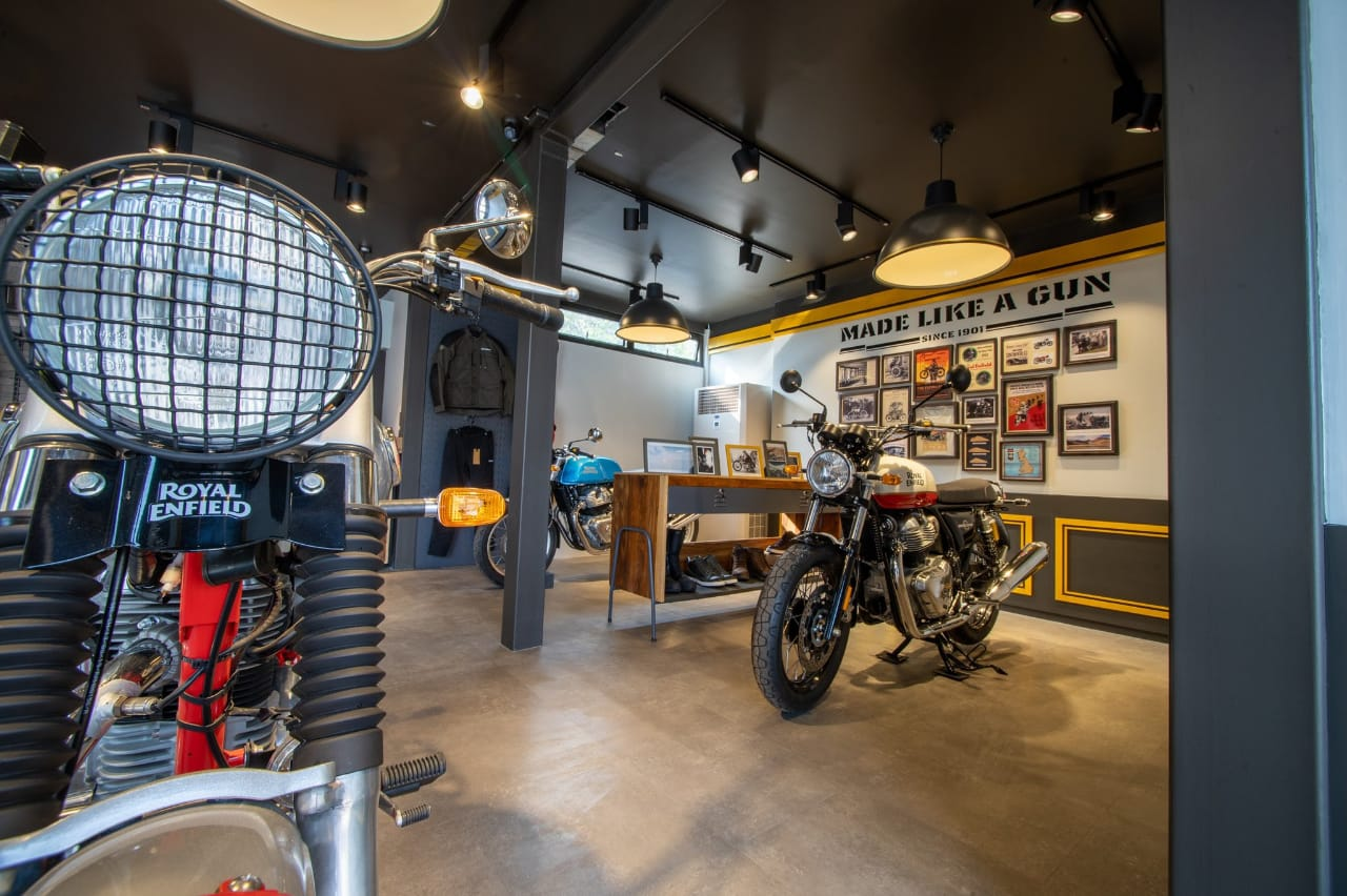 Royal Enfield Moable Showroom