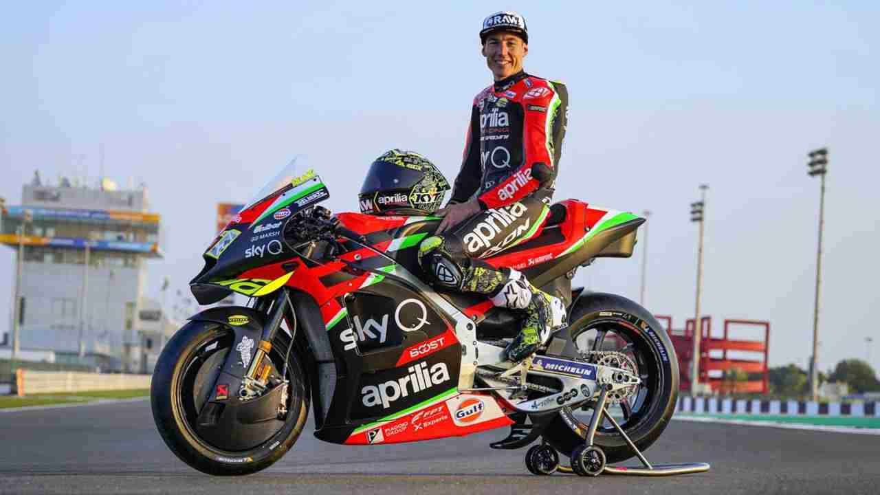 Aleix Espargaro extends contract with Aprilia MotoGP team
