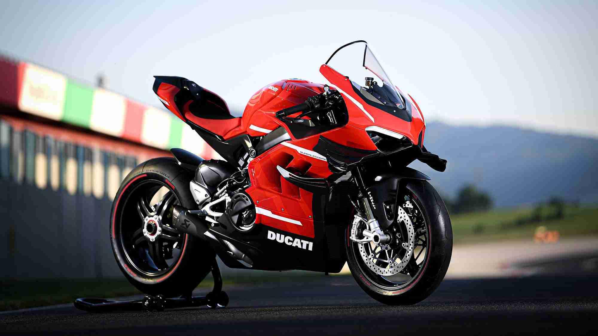 Ducati Superleggera V4 HD wallpaper
