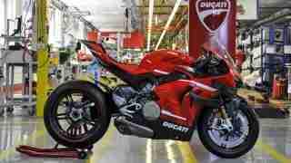 Ducati Superleggera V4 number 001