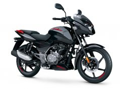Pulsar 125 Split Seat black red colour option