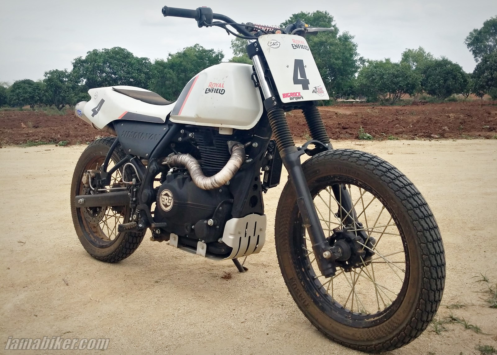 Royal Enfield modified Himalayan