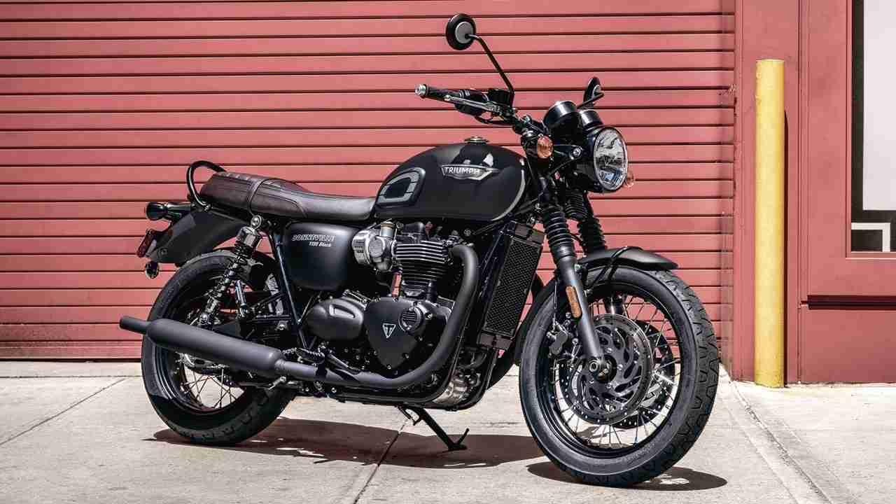 Triumph Bonneville T100 Black for India