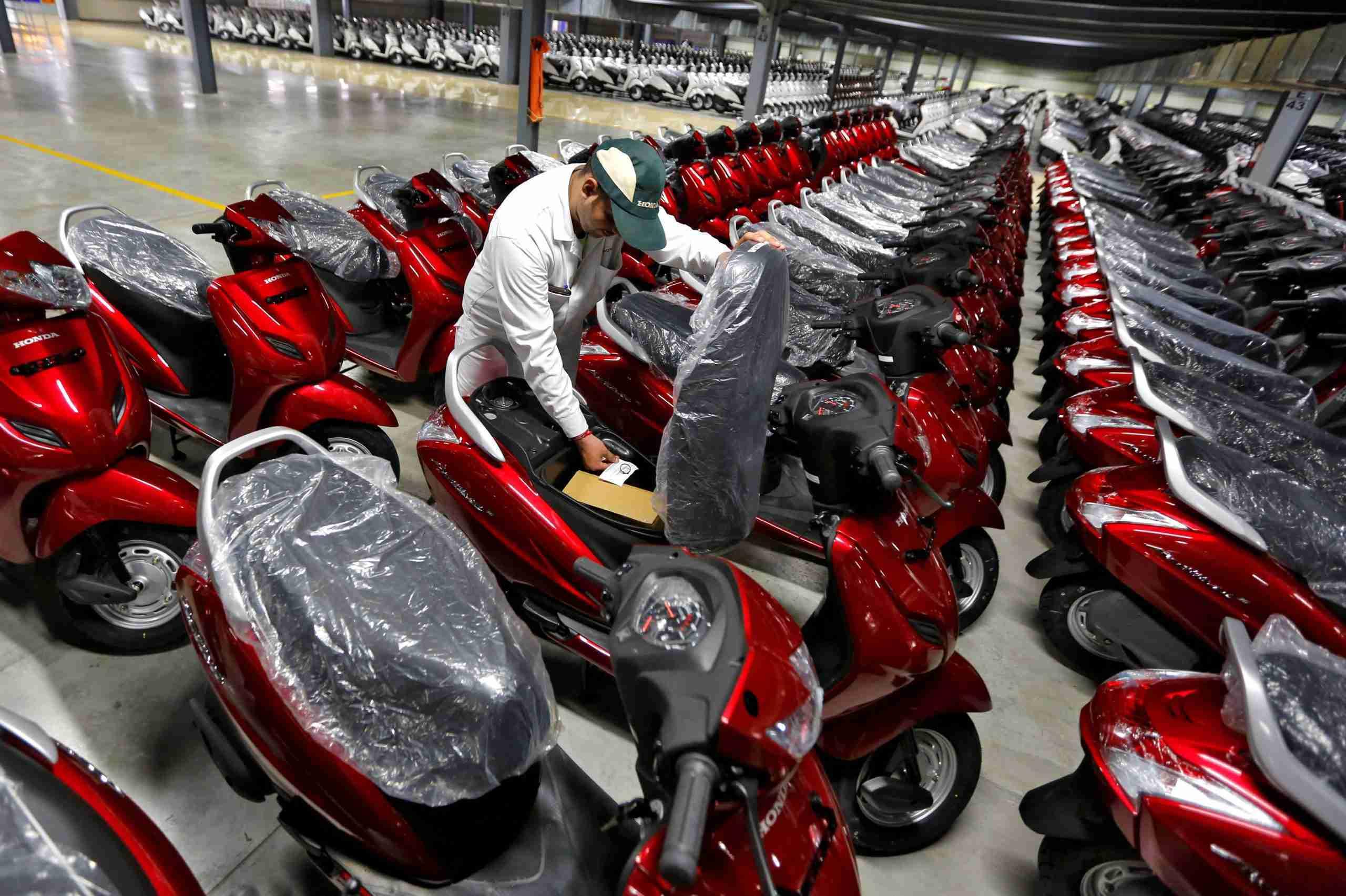 Honda Activa Factory