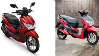 Honda Moove & Hero Electric Dash