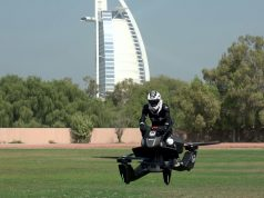 Hoversurf Dubai Police Hoverbike