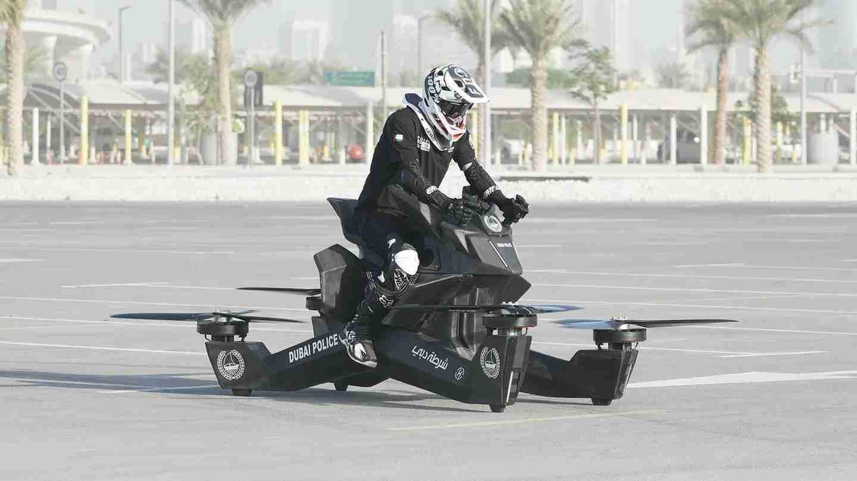 Hoversurf Dubai Police Hoverbike