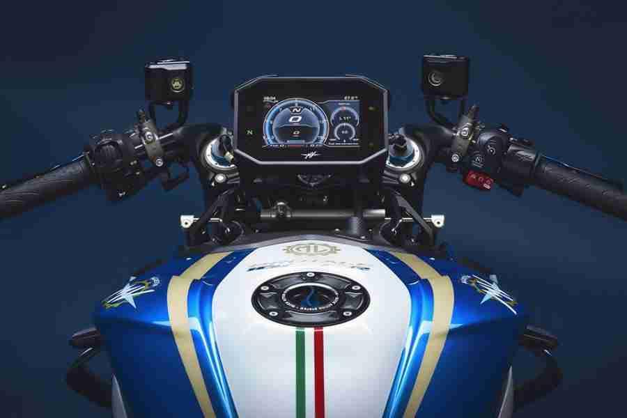 MV Agusta Brutale 1000 RR Blue & White M.L.