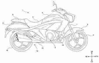 Suzuki Intruder 250 Patent