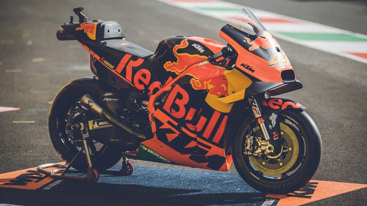 2019 KTM RC16 MotoGP bike up for sale
