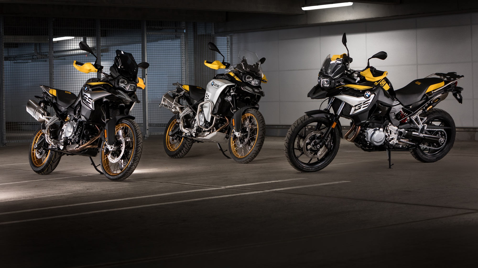 BMW F 750 GS, F 850 GS and F 850 GS Adventure