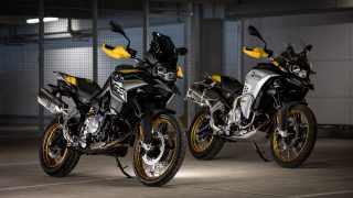BMW F 850 GS and BMW F 850 GS Adventure Edition 40 Years GS