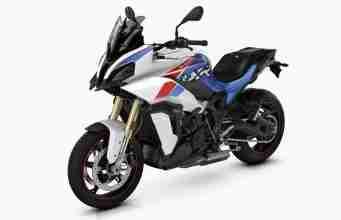2021 BMW S 1000 XR - Light white uni - Racing blue metallic - Racing red uni