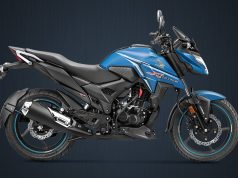 BS6 Honda X-Blade matte marvel blue metallic colour option