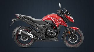 BS6 Honda X-Blade pearl spartan red colour option