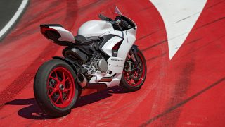 Ducati Panigale V2 White Rosso livery
