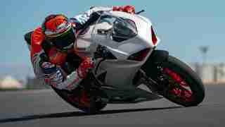Ducati Panigale V2 White Rosso livery
